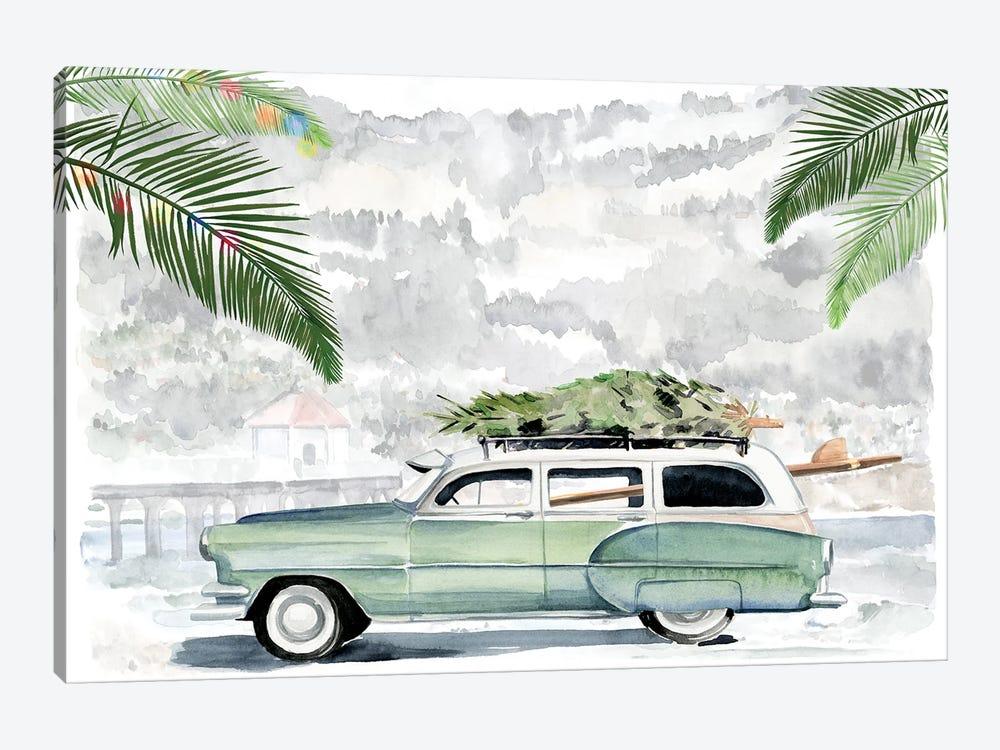 So Cali Christmas I by Jennifer Paxton Parker 1-piece Canvas Artwork