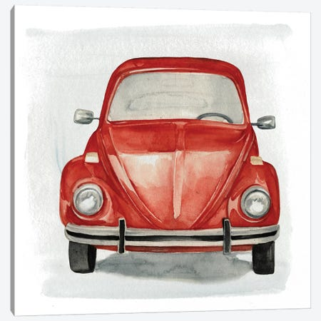 Classic Autos I Canvas Print #JPP49} by Jennifer Paxton Parker Art Print