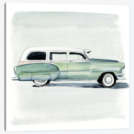 Classic Autos III Canvas Print #JPP51} by Jennifer Paxton Parker Canvas Artwork