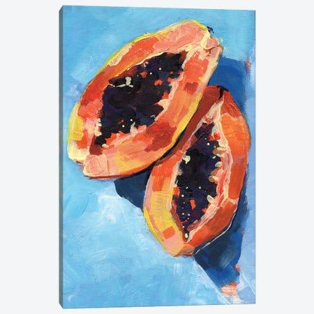 Bold Papaya I Canvas Print #JPP526} by Jennifer Paxton Parker Canvas Artwork