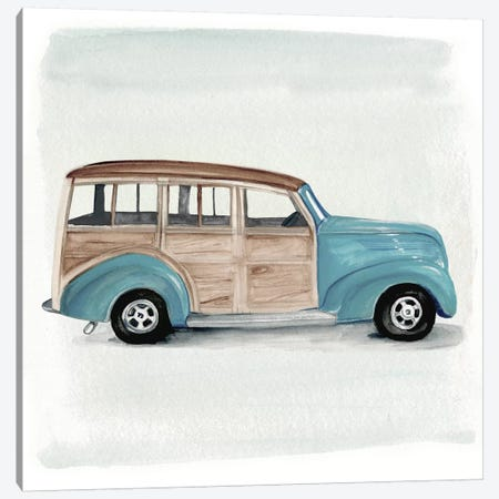 Classic Autos IV Canvas Print #JPP52} by Jennifer Paxton Parker Canvas Art