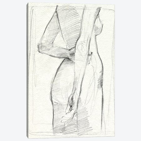 Demure I Canvas Print #JPP544} by Jennifer Paxton Parker Canvas Art