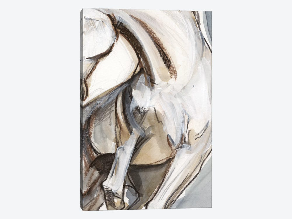Horse Abstraction II by Jennifer Paxton Parker 1-piece Canvas Wall Art