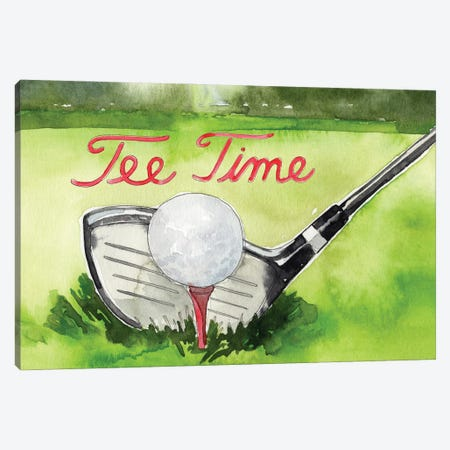 Tee Off Time III Canvas Print #JPP635} by Jennifer Paxton Parker Canvas Artwork