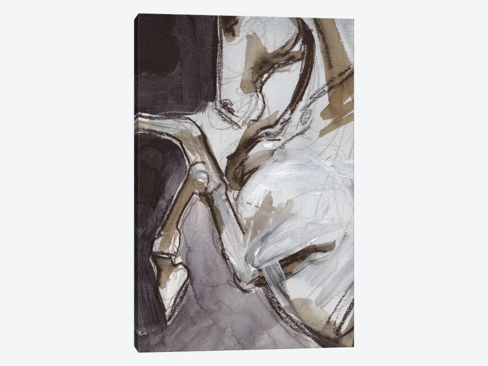 Horse Abstraction IV 1-piece Canvas Wall Art