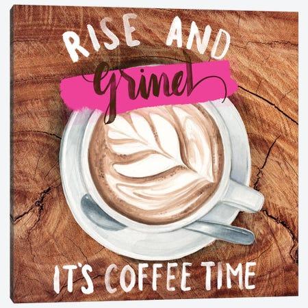 Rise & Grind II Canvas Print #JPP72} by Jennifer Paxton Parker Canvas Artwork