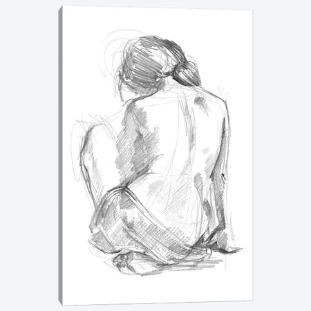 Sitting Pose I Canvas Print #JPP75} by Jennifer Paxton Parker Art Print