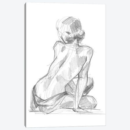 Sitting Pose II Canvas Print #JPP76} by Jennifer Paxton Parker Canvas Print