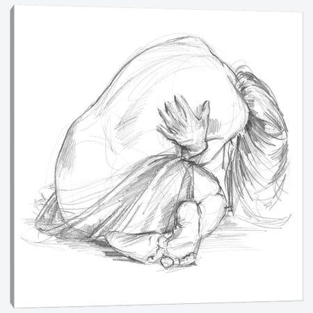Sitting Pose III Canvas Print #JPP77} by Jennifer Paxton Parker Canvas Print