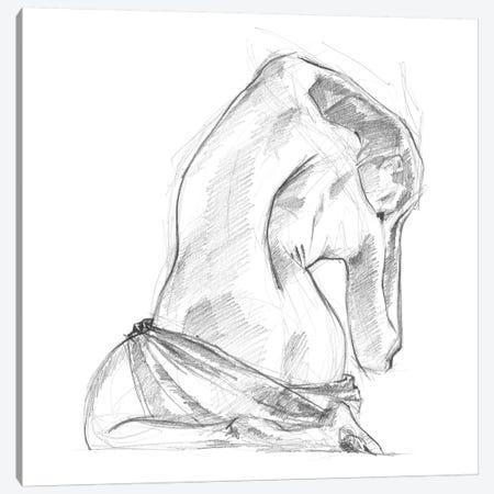Sitting Pose IV Canvas Print #JPP78} by Jennifer Paxton Parker Canvas Art