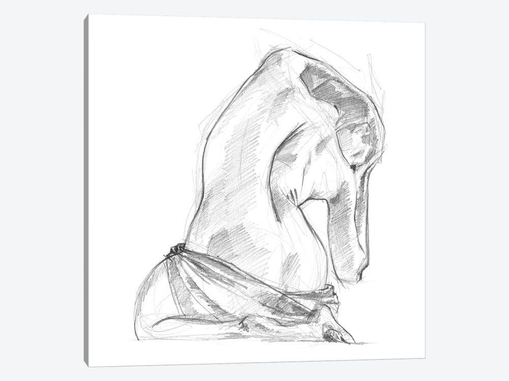 Sitting Pose IV by Jennifer Paxton Parker 1-piece Canvas Print