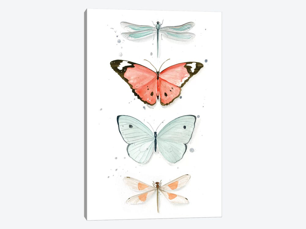 Summer Butterflies I by Jennifer Paxton Parker 1-piece Canvas Art Print
