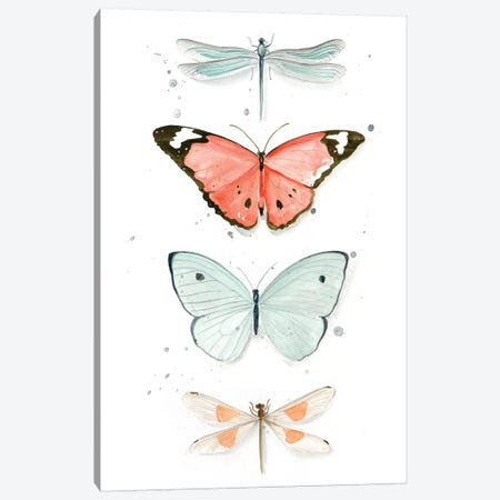Summer Butterflies I Canvas Print #JPP81} by Jennifer Paxton Parker Canvas Art Print