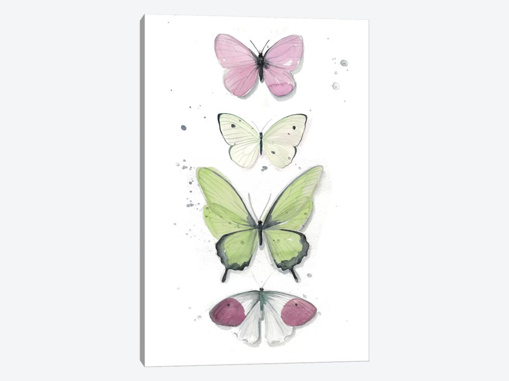 Summer Butterflies II by Jennifer Paxton Parker 1-piece Canvas Wall Art