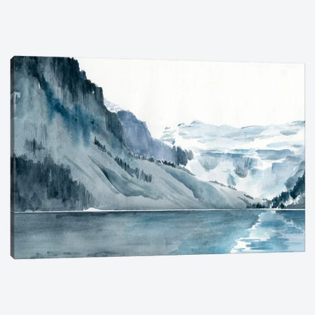 Winter Fjords I Canvas Print #JPP89} by Jennifer Paxton Parker Canvas Print