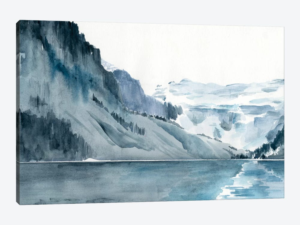 Winter Fjords I by Jennifer Paxton Parker 1-piece Canvas Art Print