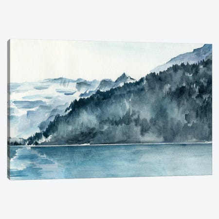 Winter Fjords II Canvas Print #JPP90} by Jennifer Paxton Parker Canvas Wall Art