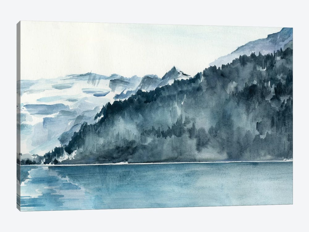 Winter Fjords II by Jennifer Paxton Parker 1-piece Art Print