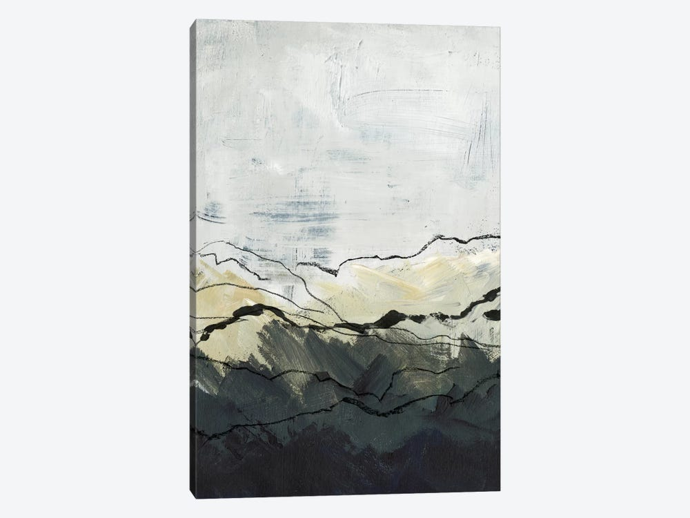 Winter Mountains I by Jennifer Paxton Parker 1-piece Canvas Art