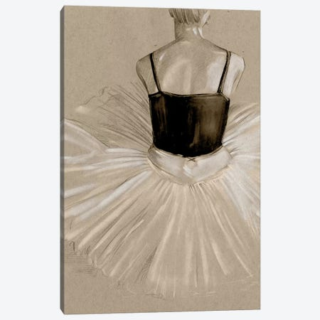 Black Leotard II Canvas Print #JPP94} by Jennifer Paxton Parker Art Print