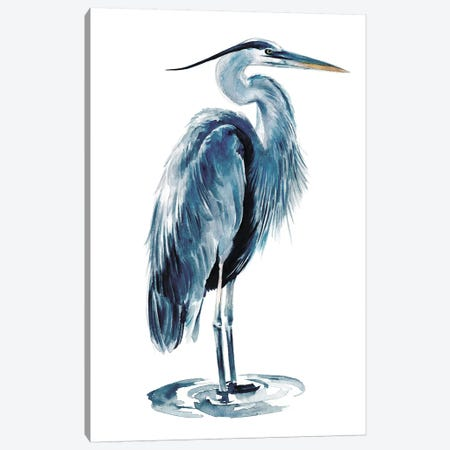 Blue Heron I 3-Piece Canvas #JPP95} by Jennifer Paxton Parker Canvas Art Print