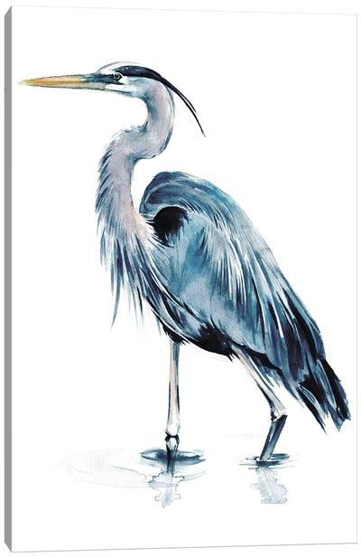 Blue Heron II Canvas Art Print
