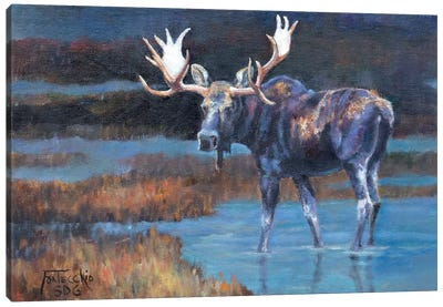 The Prince Canvas Art Print