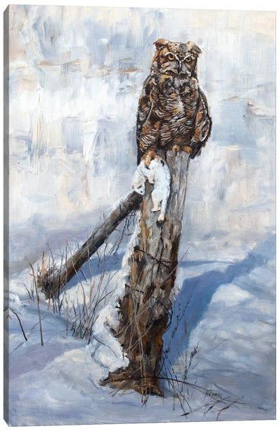 Winter Kill Canvas Art Print