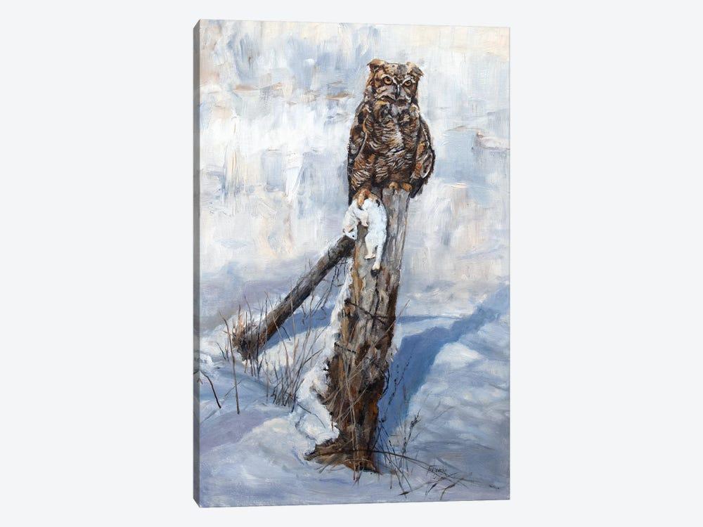 Winter Kill by Jan Perley 1-piece Canvas Wall Art