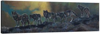 The Ridgeline Pack Canvas Art Print
