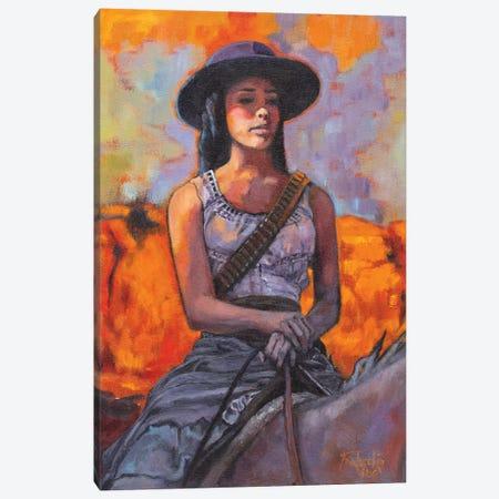 Bandita Canvas Print #JPR3} by Jan Perley Canvas Art