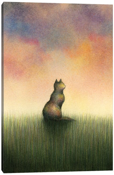 For But A Brief Moment Canvas Art Print