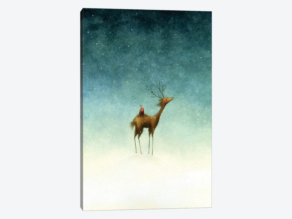 Only At Nightfall by Jeannie L. Paske 1-piece Canvas Print