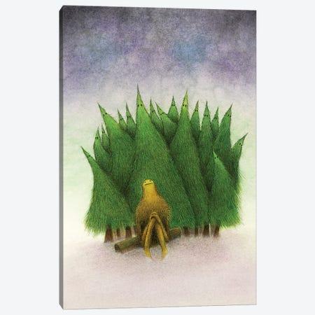 Winters Night Canvas Print #JPS28} by Jeannie L. Paske Canvas Artwork