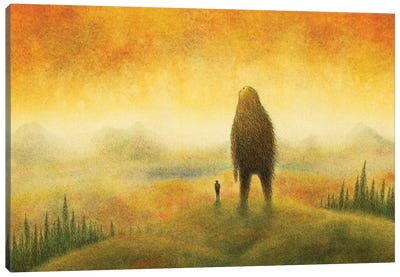 Above The Fray Canvas Art Print