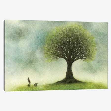 The Ways Along Which They Travel Canvas Print #JPS32} by Jeannie L. Paske Canvas Art Print