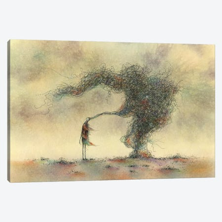 The Everythingness Of Everything Else Canvas Print #JPS46} by Jeannie L. Paske Canvas Print