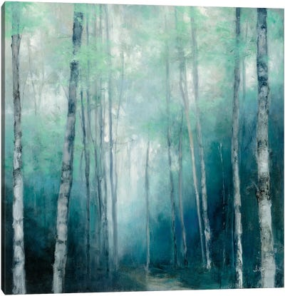 To the Woods Canvas Art Print
