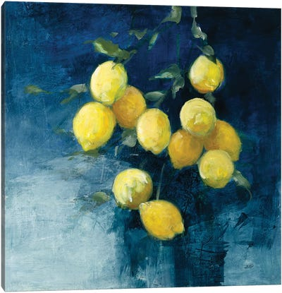 Lemon Grove II Canvas Art Print
