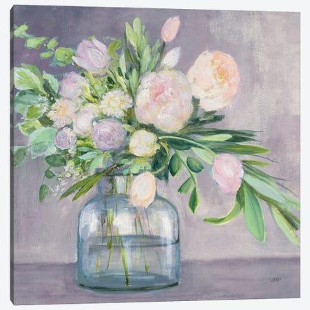 Spring Bouquet Plum Crop Canvas Print #JPU108} by Julia Purinton Canvas Print