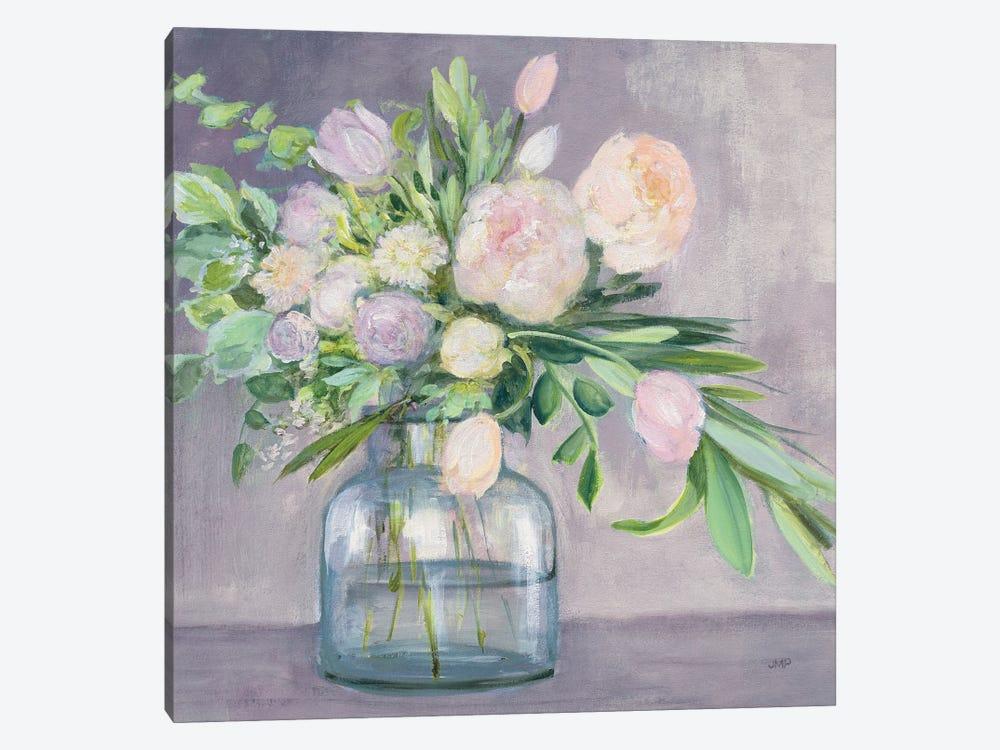Spring Bouquet Plum Crop by Julia Purinton 1-piece Canvas Art Print