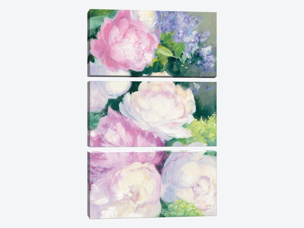 Summer Delight II by Julia Purinton 3-piece Canvas Print