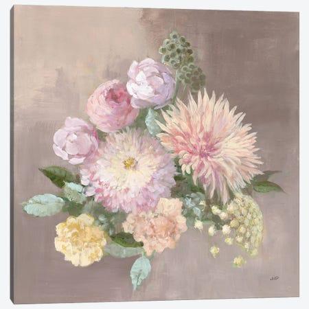 Pale Floral Spray I Canvas Print #JPU111} by Julia Purinton Canvas Wall Art
