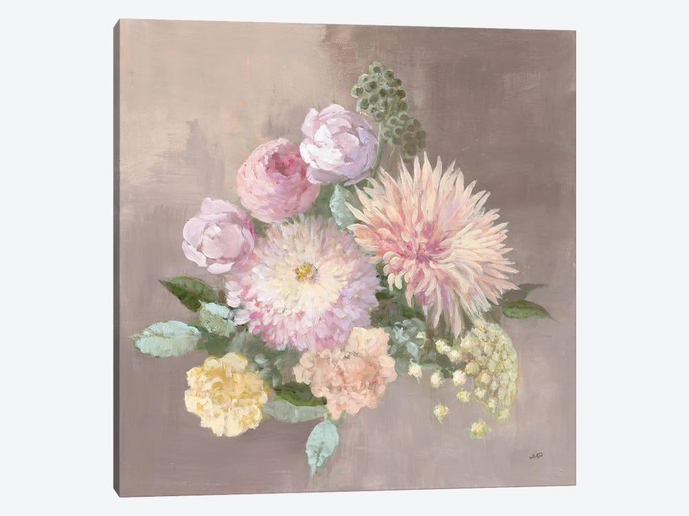 Pale Floral Spray I by Julia Purinton 1-piece Canvas Art Print