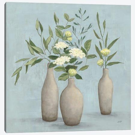 Natural Bouquet I Blue Canvas Print #JPU116} by Julia Purinton Canvas Print
