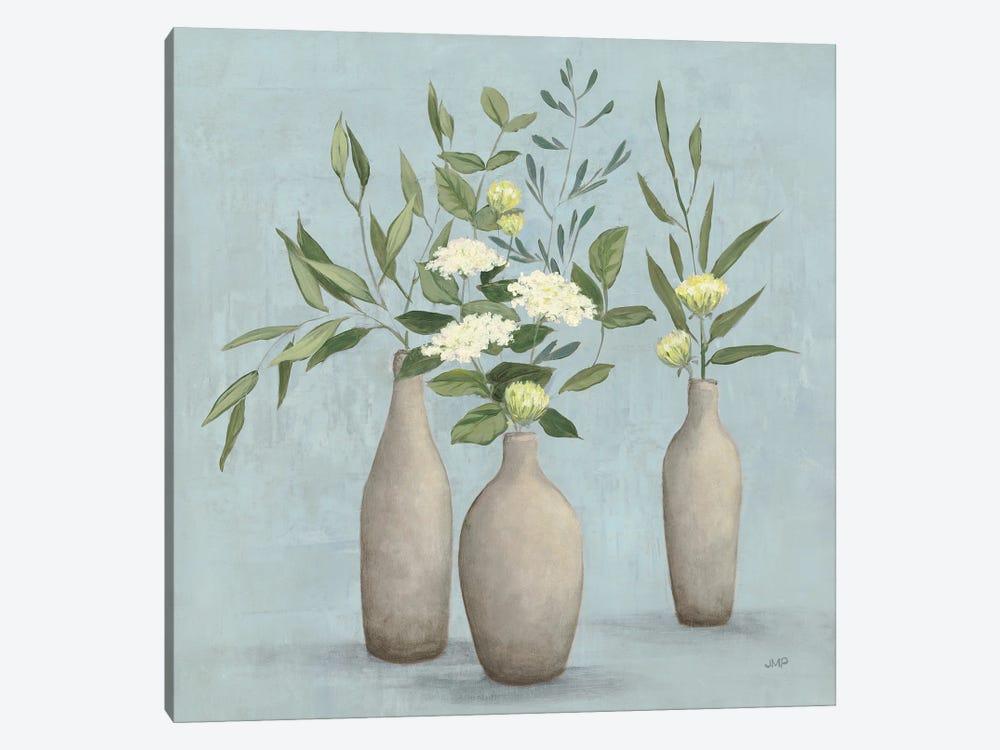 Natural Bouquet I Blue by Julia Purinton 1-piece Canvas Wall Art