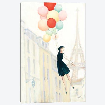 Aloft In Paris II 3-Piece Canvas #JPU18} by Julia Purinton Art Print