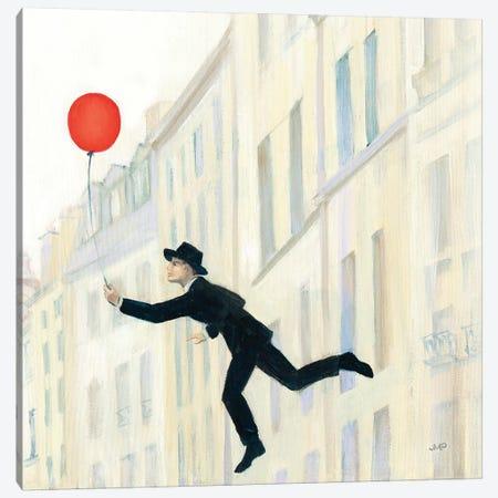 Aloft In Paris III 3-Piece Canvas #JPU19} by Julia Purinton Canvas Art Print
