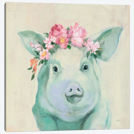 Festival Girl IV Canvas Print #JPU28} by Julia Purinton Canvas Art
