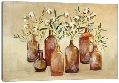 Cotton Still Life I Canvas Art Print